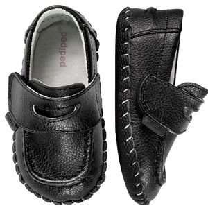 Pediped Charlie loafers in Black sz 6-12 month
